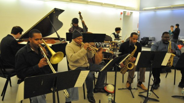 Wynton Marsalis Septet in rehearsal for Alvin Ailey American Dance Theater Gala