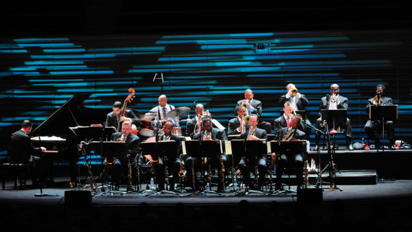 JLCO with Wynton Marsalis performing in Paris, France