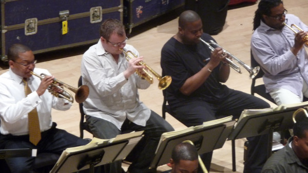 JLCO rehearsals for the 2009 Summer Tour