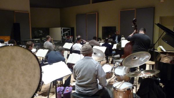 Jazz & Art at Jazz at Lincoln Center (Rehearsal)