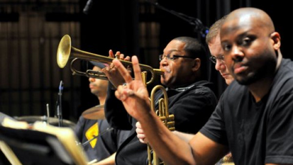 JLCO with Wynton Marsalis performing in Baton Rouge, LA and Fayetteville, AR - 2010