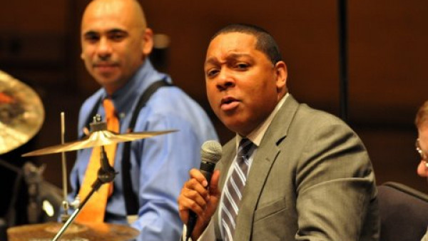 JLCO with Wynton Marsalis performing in Minneapolis, MN - 2010