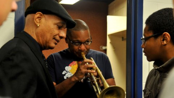 JLCO with Wynton Marsalis performing in Brookville