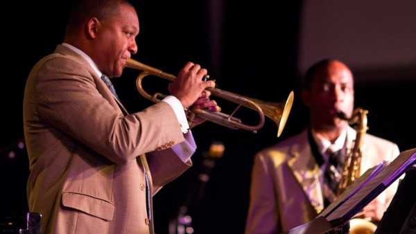 The Wynton Marsalis Quintet Performing at the Emperors Palace Theatre - Johannesburg, South Africa