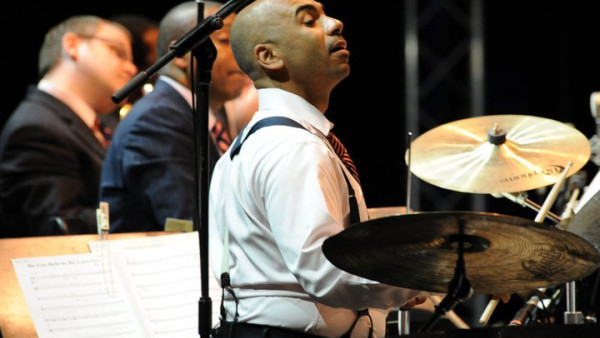 JLCO with Wynton Marsalis performing in Madrid and Nice