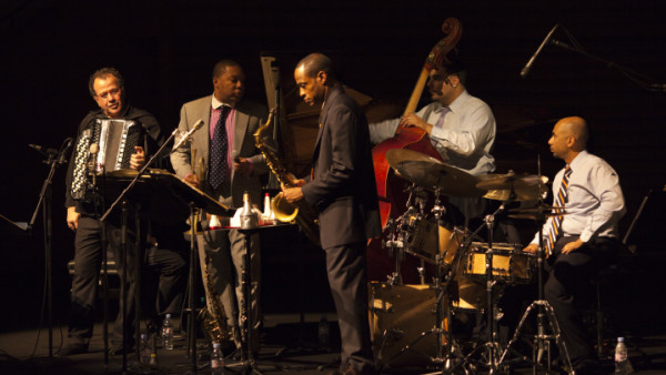 Wynton Marsalis Quintet featuring Richard Galliano performing at Salle Pleyel (Paris)