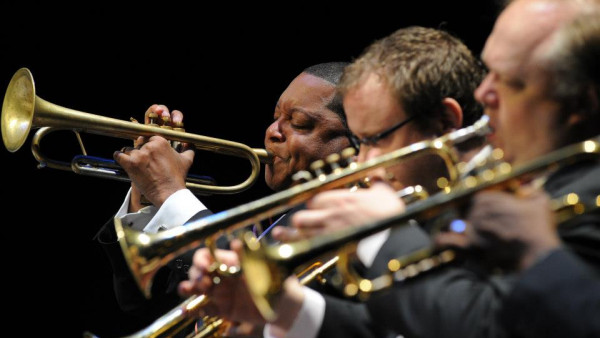 JLCO with Wynton Marsalis performing in Dayton, OH