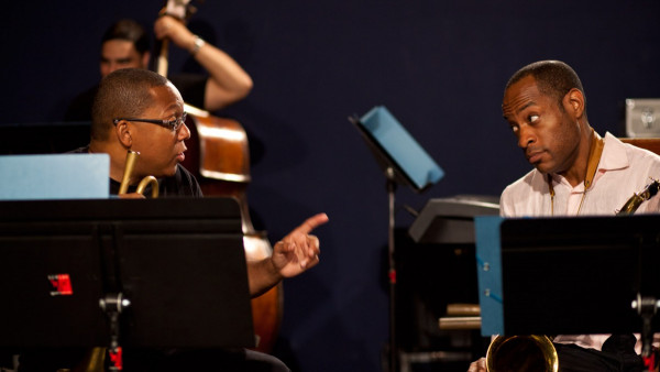 Wynton Marsalis Quintet with Lucky Peterson - Rehearsals for Jazz in Marciac 2012