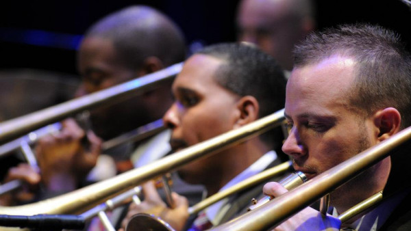 JLCO with Wynton Marsalis performing in Wilmington and Newport News