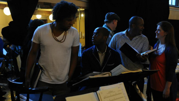 JLCO with Wynton Marsalis rehearsing the Abyssinian Mass at Union Chapel, London