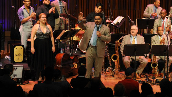 JLCO performing Afro-Cuban Fiesta at Barbican Centre, London