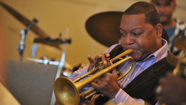 The Wynton Marsalis Septet rehearsing with Garth Fagan Dance (part 1) - Rochester, NY