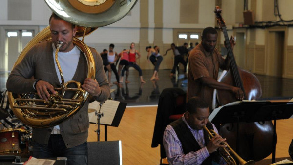 The Wynton Marsalis Septet rehearsing with Garth Fagan Dance (part 2) - Rochester, NY
