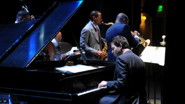 Wynton Marsalis Quintet performing in East Hampton, NY
