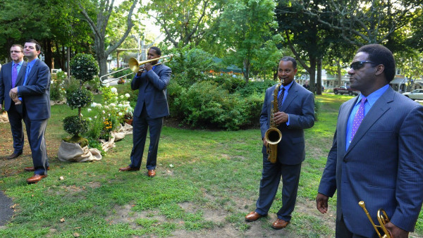 JLCO with Wynton Marsalis performing at Martha's Vineyard