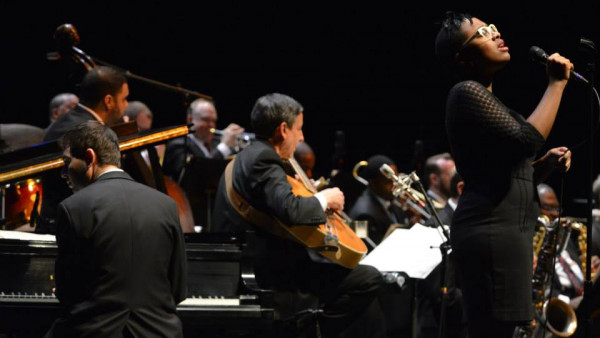 JLCO with Wynton Marsalis and Cecile McLorin Salvan in West Palm Beach and Naples, FL