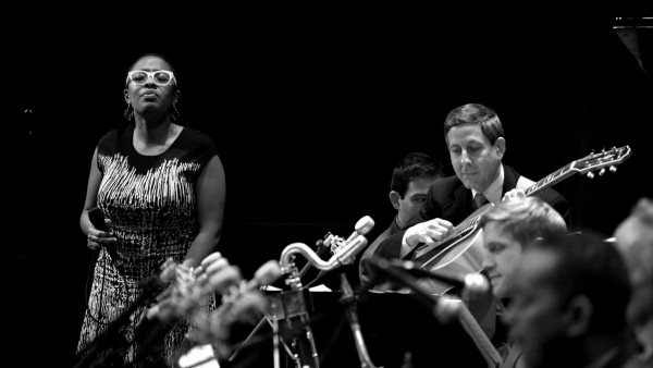 JLCO with Wynton Marsalis and Cecile McLorin Salvant in Iowa City, IA