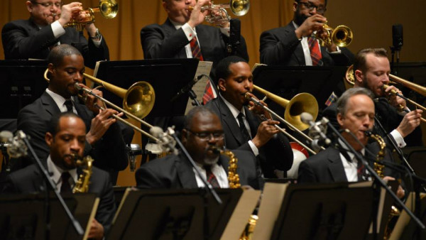 JLCO with Wynton Marsalis and Cecile McLorin Salvant in Naperville, IL