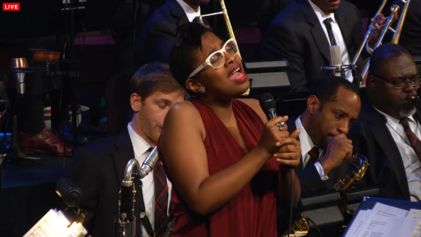 JLCO with Wynton Marsalis and Cecile McLorin Salvant in New York
