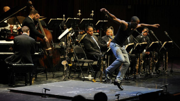 Wynton Marsalis with JLCO performing in Hanover, Portland and Hartford