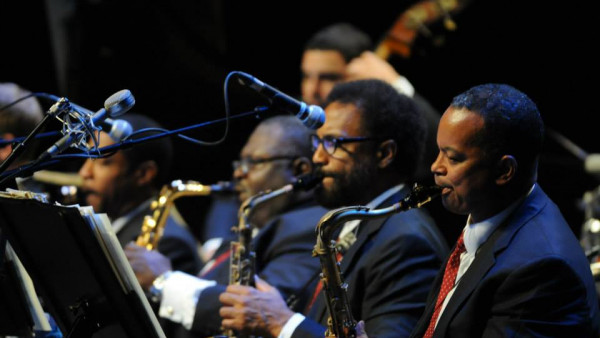 JLCO with Wynton Marsalis performing in Karlsruhe and Munich (Germany)
