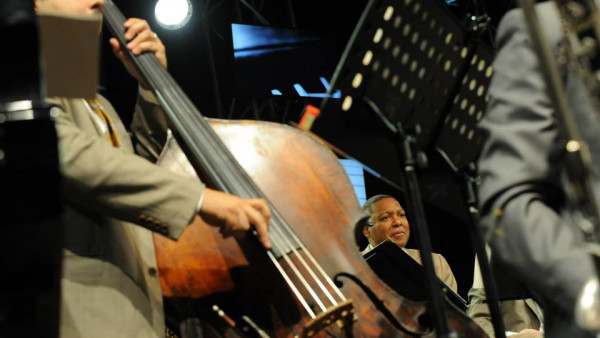 JLCO with Wynton Marsalis performing in Madrid, Getxo and Valencia (Spain)