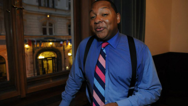 JLCO with Wynton Marsalis performing in Prague, Czech Republic