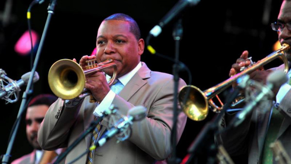JLCO with Wynton Marsalis performing at Celebrate Brooklyn (part 1)