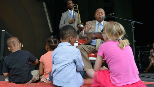 JLCO with Wynton Marsalis performing at Celebrate Brooklyn (part 2)