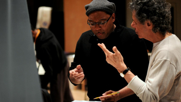 JLCO with Wynton Marsalis rehearsing with Chick Corea (day 1)
