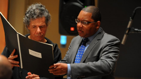 JLCO with Wynton Marsalis rehearsing with Chick Corea (day 2)
