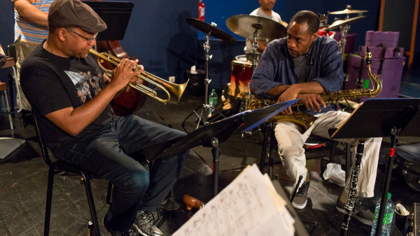 Wynton Marsalis Quintet featuring Richard Galliano in rehearsal at Jazz in Marciac 2014