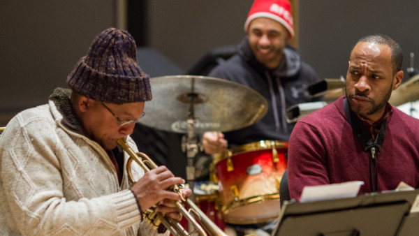 Wynton Marsalis Quintet in rehearsals with Jared Grimes and Kate Davis