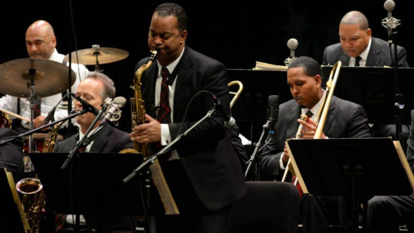 JLCO with Wynton Marsalis and Cécile McLorin in Carmel, IN and Green Bay, WI
