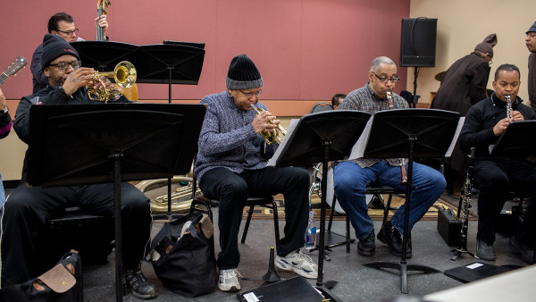 Rehearsals for Harvard Lecture Nr. 6 - New Orleans: The Birth of Jazz (day 1)