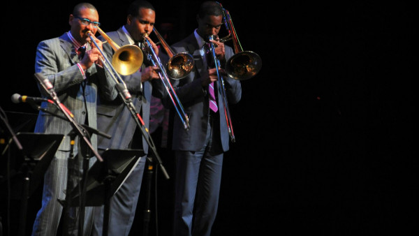 JLCO with the Marsalis Family performing in Indianapolis, IN