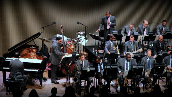 JLCO with Wynton Marsalis performing in San Francisco
