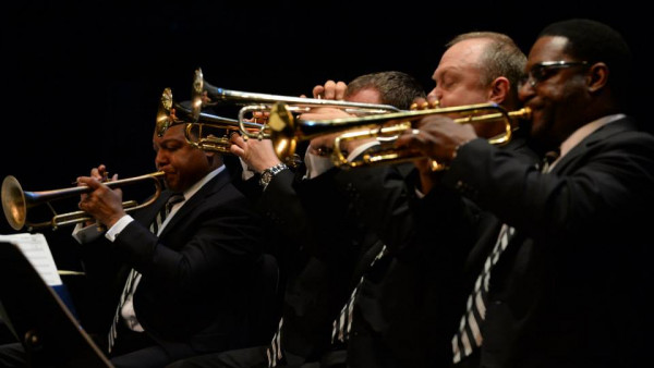 JLCO with Wynton Marsalis performing in Seattle and Eugene