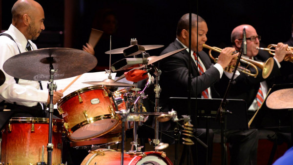 JLCO with Wynton Marsalis performing The Music of Moacir Santos