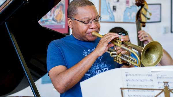 Wynton Marsalis Sextet performing at Jazz in Marciac 2015