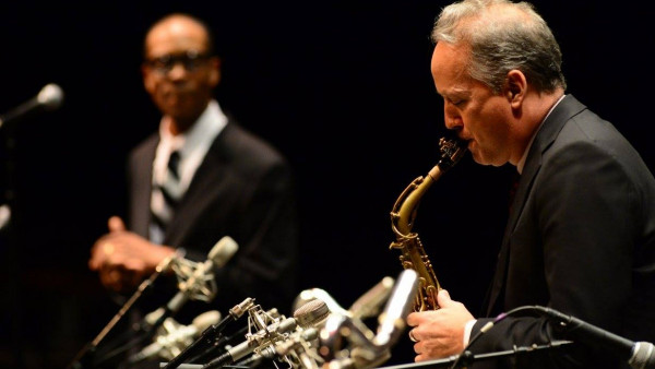 JLCO with Wynton Marsalis performing in Portland, ME; Orono, ME; Providence, RI