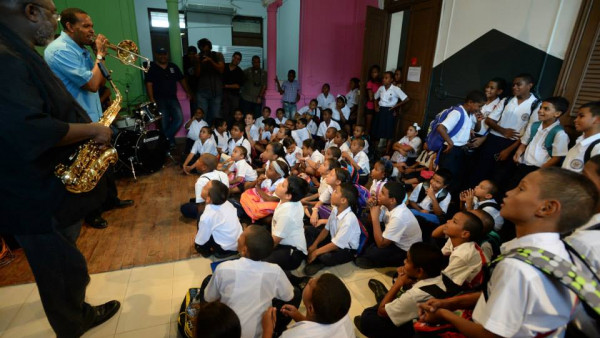 Education event and concert at Fundación Danilo Pérez - Panama