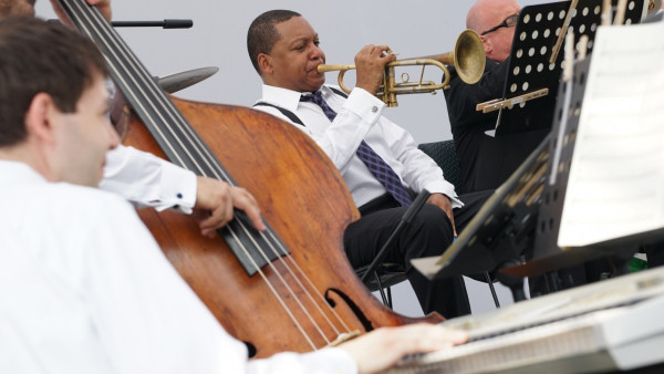 JLCO with Wynton Marsalis in Santiago, Chile