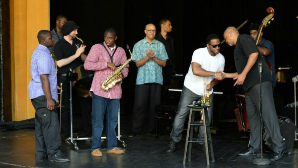 Jazz for Young People, Workshop and Concert in St. Thomas