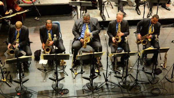 JLCO with Wynton Marsalis performing in Cape May, NJ