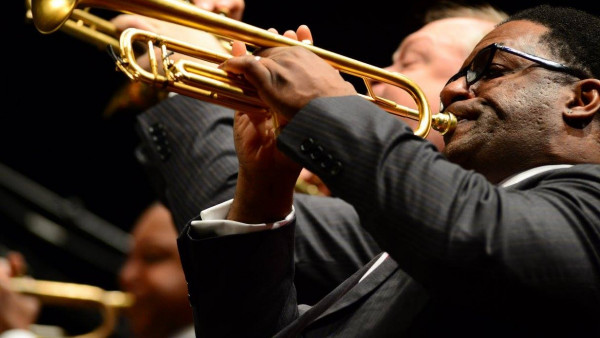 JLCO with Wynton Marsalis playing the music of John Coltrane at Alice Tully Hall, New York