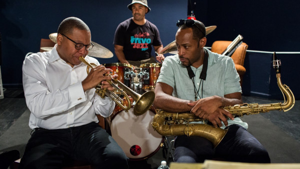 Wynton Marsalis Quintet in rehearsal for Jazz in Marciac 2016