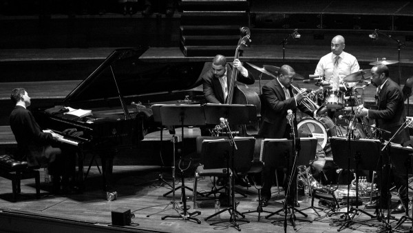 JLCO with Wynton Marsalis playing in Amsterdam (Netherland)