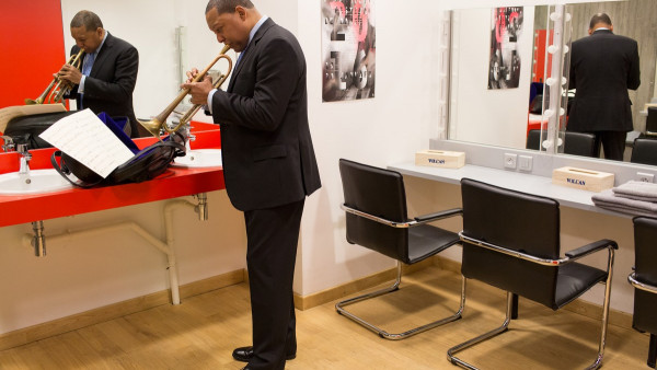 JLCO with Wynton Marsalis playing at Le Volcan in Le Havre (France)