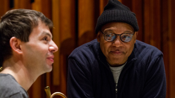 JLCO with Wynton Marsalis playing in London